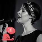 Musician Georgia Brooks at Slowdown 2017
