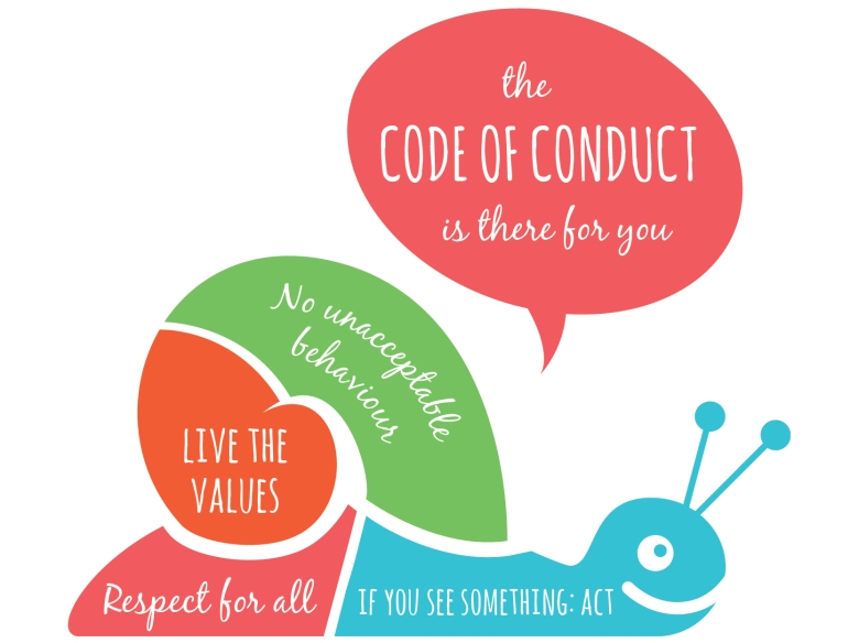 Code of Conduct at Slowdown Weekend